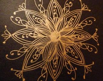 Hand Drawn Mandala - Molskine® Journal