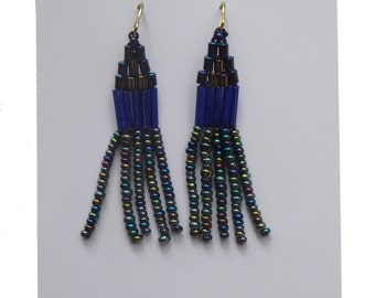 on the fringe earrings - FREE DOMESTIC SHIPPING
