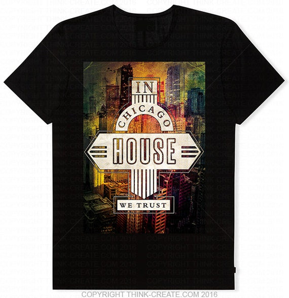 Limited edition classic iconic in chicago house we by for Chicago house music classics