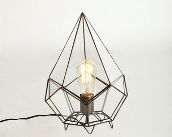 Pendulum Glass Pendant
