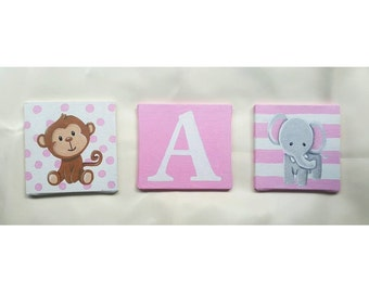 Paintings for Babies (Personalized)(Three canvas)