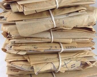 Sewing Pattern Paper, Sewing Pattern, Tissue Paper, Ephemera, Paper Ephemera, Vintage Ephemera, Scrapbooking, Junk Journal, Smash Book