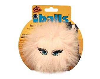 IBalls furry dog toys
