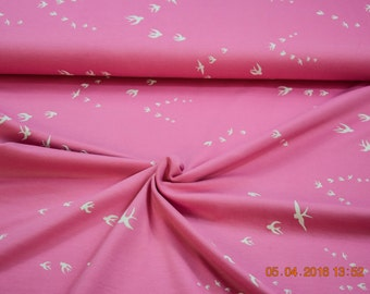 Jersey Kenny birds pink