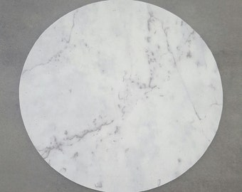Faux Marble Placemat - Round