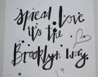 Spread Love Print
