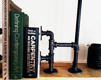 Industrial Pipe Book End