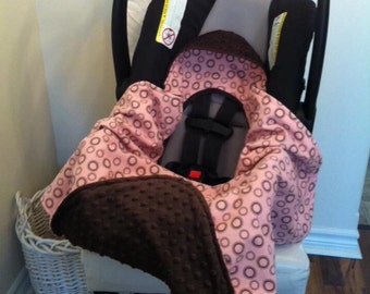 Baby Blanket Car Seat Minky | Baby Gift