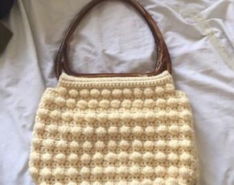 Vintage Crochet Handbag