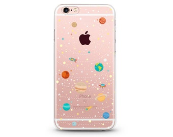 Some Space - iphone 5/SE case, clear iphone 5/SE case, clear iphone 5 case ,clear iphone 5 cases