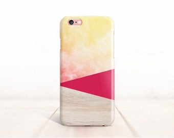 Ombre iPhone 6 Case Wood iPhone 6S Case iPhone 6 Plus Case iPhone 6S Plus Case iPhone 5S Case Samsung S6 Case Pink Samsung S5 Case,