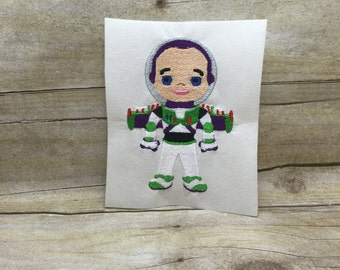 Buzz Lightyear Embroidery Design, Toy Story Embroidery Design