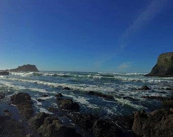 Oregon Coast panoramic III
