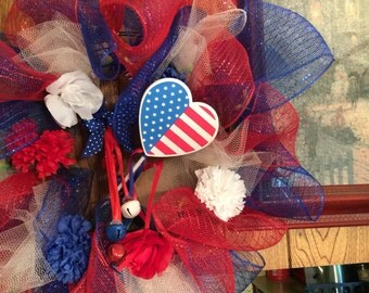 We live ve America wreath