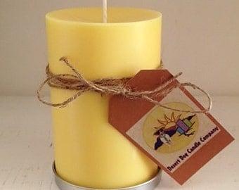 "5"" x 6"" Soy Pillar Candle"