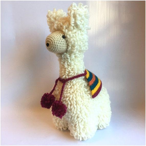 Crochet Amigurumi Llama : Crochet amigurumi pattern: Llama