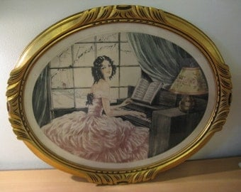 Original french etching, hand colored and signed! Incl. or. list ... ca. 1910