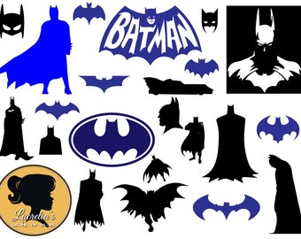 Batman svg, silhouette ,  dxf,  clipart, SVG files for Silhouette Cameo or Cricut, , vector, .svg, dxf eps