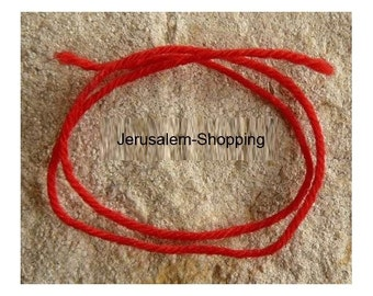 Jerusalem 5 Red string (Kabbalah) - Red thread western Wall - Kotel from Jerusalem - ISRAEL