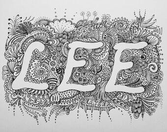 Lee doodle
