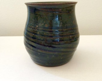 Deep Blue Miniature Vase