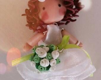 Necklace bride.