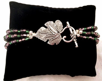 Grape Leaf Bracelet