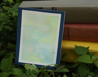 Water Color Greeting Card