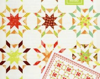 Fig Tree Quilt Pattern Starfish by Joanna Figueroa, jelly roll friendly