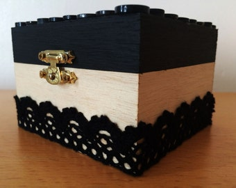 Redesigned Black Buckle Box