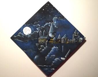 Graduation Cap- Hogwarts