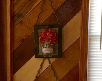 3 pc Mason Jar Rope Hanging