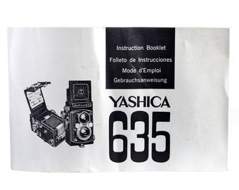 Yashica 635 Instruction Manual