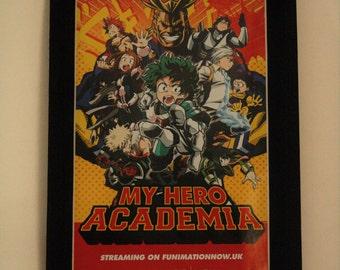 My Hero Academia - Mounted print