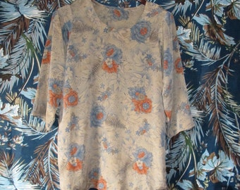 1 Colourful Medium Flowery Dress