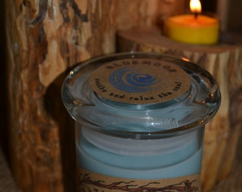 Bluemoon ~ Soothe and Relax the Soul 8 oz candle