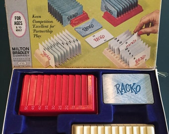 1966 Complete RACK-O Card Game by Milton Bradley No 4765