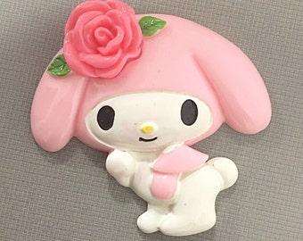 Huge Kawaii bunny cabochon