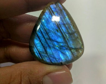 Blue flash Labradorite no-009