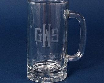 Custom Engraved 25oz Beer Mugs, Personalized Beer Mugs, Custom glasses, Groomsmen Gift, Personalized Beer Glasses, Gifts for him, Beer Mug