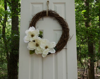 Magnolia Flower Wreath