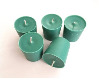 Wintery Pine Scented Votive Candles 5 Pack