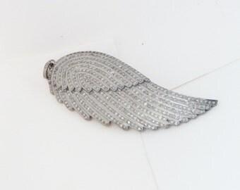 Pave Diamond Feather