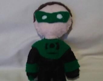 Green lantern plushie