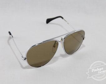 Vintage aviator sunglasses, retro sunglasses, 1990s sunglasses