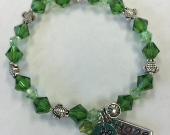 Turtle Lovers Beaded Bracelet