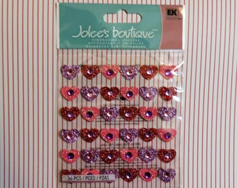 Heart scrapbook stickers by Jolee's Boutique