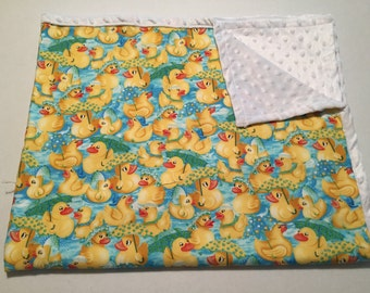 Rubber ducky blanket