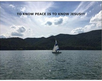 To Know Peace Is To Know Jesus