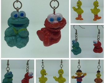 Sesame Street Earrings